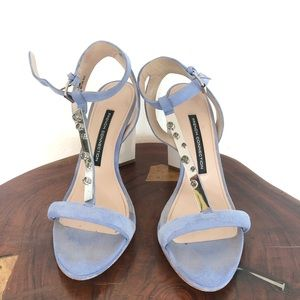 French Connection Suede Sandals